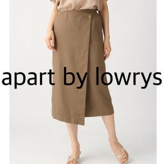 apart by lowrys - apart by lowrys ♥ Pボタンラップタイトスカート