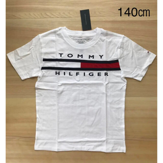 TOMMY HILFIGER - 【新品タグ付き】 トミーヒルフィガー グラフィックプリントTシャツ140