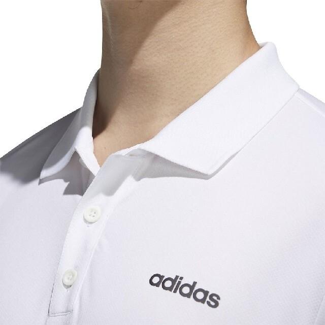 adidas(アディダス)の【新品M】adidas ポロシャツ スポーツ/アウトドアのゴルフ(ウエア)の商品写真