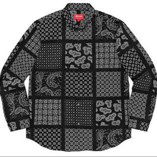 Supreme - supreme paisley grid shirt シュプリーム
