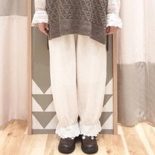 SM2 - 新品 裾レースギャザーパンツ