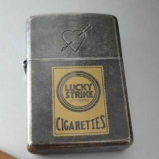 ジッポー(ZIPPO)のLucky Strike Zippo ハートアロー(タバコグッズ)