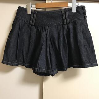 ダブルクローゼット(w closet)の☆w closet☆【URBAN NOW】デニムショートパンツ(キュロット)