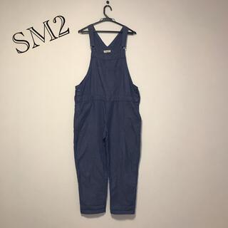 SM2 - SM2 オーバーオール ラフ ブルー Mサイズ