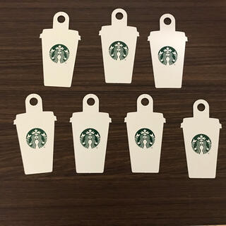 スターバックスコーヒー(Starbucks Coffee)のスターバックスカード スタバカード メッセージタグ 7枚(カード/レター/ラッピング)