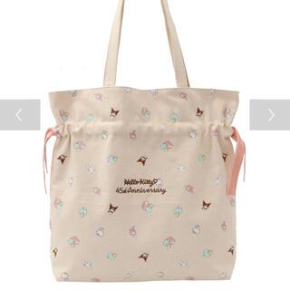 Maison de FLEUR - 【限定品】サンリオキャラクターズアニバーサリーバッグ ピンク