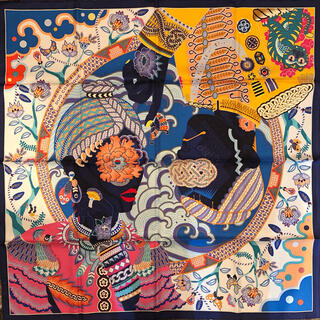 Hermes - HERMES エルメス 表参道オープン記念 スカーフ 世界100枚