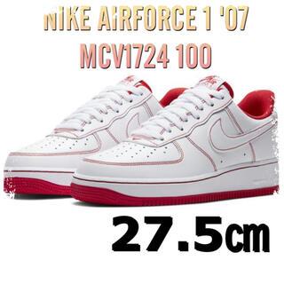 ナイキ(NIKE)のNIKE AIRFORCE 1 '07  MCV1724 100(スニーカー)