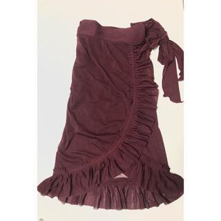 ジャンポールゴルチエ(Jean-Paul GAULTIER)のラップスカート チュール無地 ゴルチエ (ひざ丈スカート)