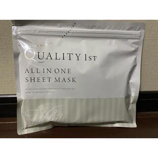 クオリティファースト(QUALITY FIRST)のクオリティファースト フェイスマスク 化粧品 プラセンタ 日本製 シートマスク (パック/フェイスマスク)