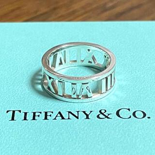 Tiffany & Co. - ティファニー アトラス オープン リング 指輪 9号 スターリングシルバー925