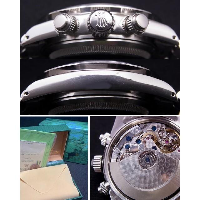 ROLEX(ロレックス)の6263 ビンテージ白ポール 7750自動巻 修理用 部品一式   メンズの時計(腕時計(アナログ))の商品写真