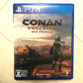 PlayStation4 - コナンアウトキャスト CONAN outcasts ps4