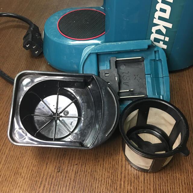 Makita(マキタ)の【コーヒーメーカー】マキタバッテリーがあればどこでも挽き立て淹れたてコーヒー スマホ/家電/カメラの調理家電(コーヒーメーカー)の商品写真