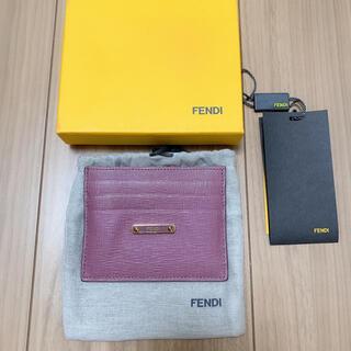 フェンディ(FENDI)のFENDI カードケース(名刺入れ/定期入れ)