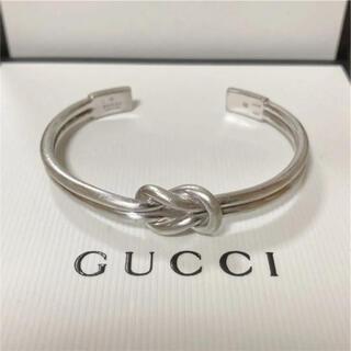 Gucci - GUCCI ノット インフィニティ バングル