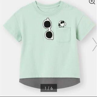 GU - GU タグなし新品 SNOOPY半袖Tシャツ