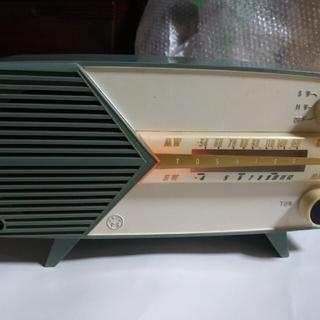 レトロ真空管ラジオ かなりやPS  5LQ-218(ラジオ)