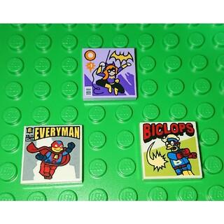 Lego - 【新品】LEGO マガジンコミック《B》プリント レゴ ミニフィグアイテム