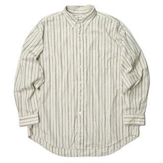 ジムフレックス(GYMPHLEX)のGYMPHLEX 19AW マルチストライプ ビッグボタンダウンシャツ(シャツ)