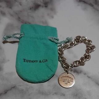 Tiffany & Co. - ティファニー SV925 リターン トゥ ラウンドタグ ブレスレット バングル