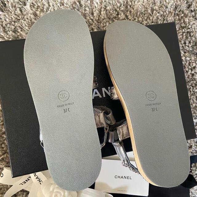 CHANEL(シャネル)のCHANEL  サンダル シルバー レディースの靴/シューズ(サンダル)の商品写真