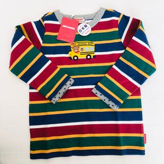 mikihouse - 【新品未使用、タグ付き】ミキハウス プッチー 豪華 Tシャツ 長袖 100