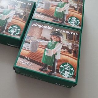 Starbucks Coffee - 韓国スタバ × プレイモービル パートナーJOY