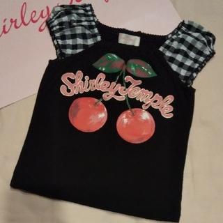 Shirley Temple - 110 半袖 チェリー Tシャツ シャーリーテンプル