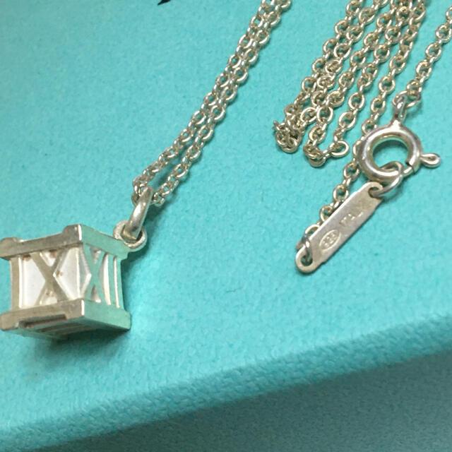 Tiffany & Co.(ティファニー)のティファニー★アトラス キューブ ネックレス レディースのアクセサリー(ネックレス)の商品写真