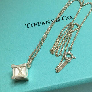 ティファニー(Tiffany & Co.)のティファニー★アトラス キューブ ネックレス(ネックレス)