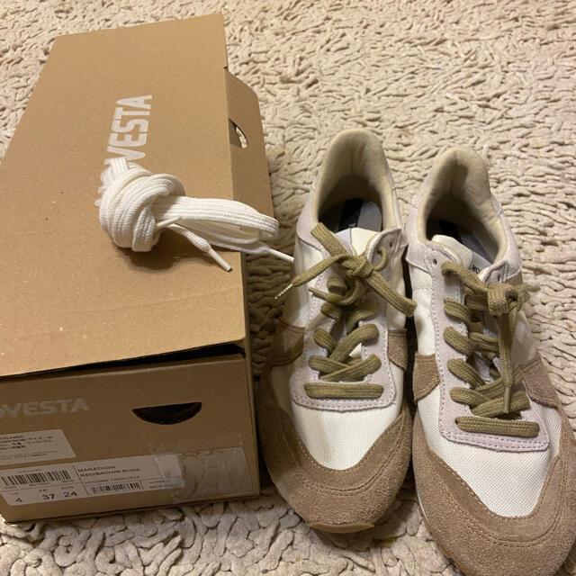 Drawer(ドゥロワー)のDRAWER ドゥロワー 別注 NOVESTA marathonスニーカー 37 レディースの靴/シューズ(スニーカー)の商品写真