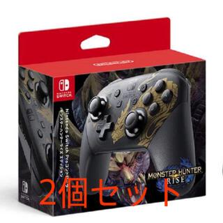 Nintendo Switch - Switch Proコントローラー モンスターハンターライズエディション 2個