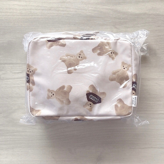 gelato pique - 新品 ジェラートピケ  ベア くま おむつポーチ クリスマス限定 完売品