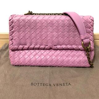 Bottega Veneta - 美品 ボッテガ ヴェネタ イントレチャート ベビーオリンピア ショルダーバッグ