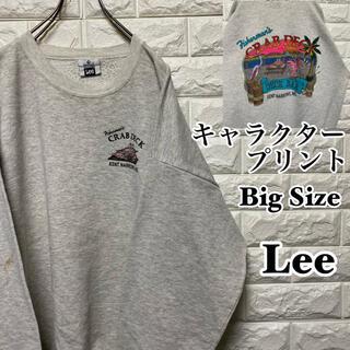 Lee - 【Lee】USA製 キャラクタープリント ビッグサイズ スウェット