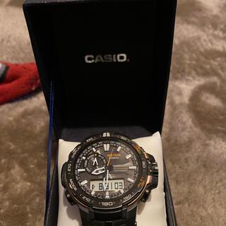 カシオ(CASIO)のCASIO プロトレック オレンジ(腕時計(アナログ))