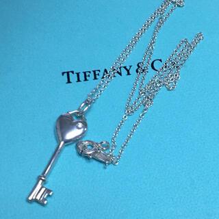 ティファニー(Tiffany & Co.)の特美品★ティファニー★1Pダイヤモンド キーネックレス(ネックレス)