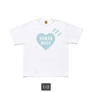 A BATHING APE - HUMAN MADE HM HEART LOGO T-SHIRT XXL 新品