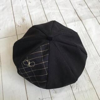 mina perhonen - ミナペルホネンベレー帽Lサイズ蝶々