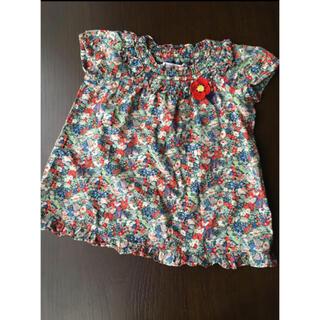 familiar - ファミリア リバティ Tシャツ ブラウス チュニック 100 ボンポワン