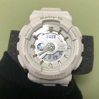 ベビージー(Baby-G)のCASIO BABY-G white(腕時計(デジタル))