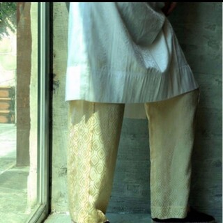 BEAUTY&YOUTH UNITED ARROWS - 6(ROKU) MOTIF PANTS / モチーフ パンツ サテン