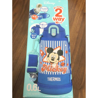 THERMOS - サーモス ディズニー 2wayスポーツボトル 新品未開封 まほうびん 0.6ℓ