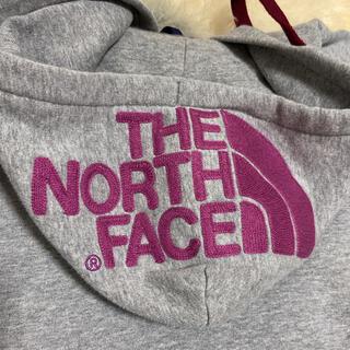 THE NORTH FACE - ザ ノースフェイス パーカー刺繍ロゴ 美品 ナイキ アディダス好きな方にも