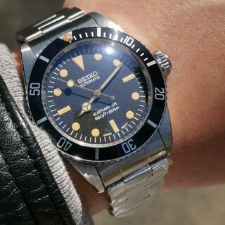 セイコー(SEIKO)のSEIKO セイコー mod カスタム 腕時計 ビンテージ サブマリーナー(腕時計(アナログ))