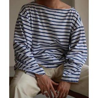 COMOLI - outil tricot AAST ウティ バスクシャツ