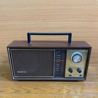ソニー(SONY)のSONY  ヴィンテージラジオ(ラジオ)