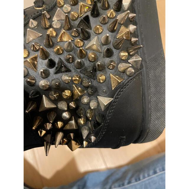 Christian Louboutin(クリスチャンルブタン)のクリスチャンルブタン mix スタッズ  pik pik ハイカット スニーカー メンズの靴/シューズ(スニーカー)の商品写真