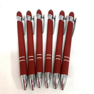 新品ボールペン6本(店名・企業名入り)タッチペン機能付き